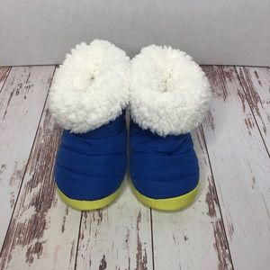 5/$25 Surprize by Stride Rite Cozy Bootie Slippers